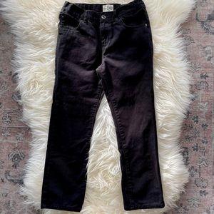 Boys children's place black skinny jeans size 8